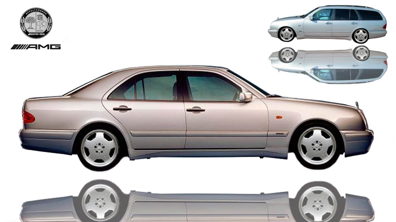 1997 mercedes benz e55 amg w210 for 1997 mercedes benz e320 review