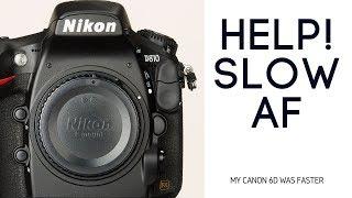 SLOW Nikon D800 Auto Focus. Nikon D750 BETTER???
