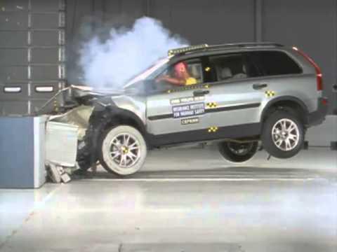 Volvo XC90 2003, краш-тест