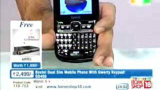 HomeShop 18  Beetel dual sim phone @2,499