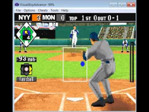 GSCentral - Baseball Advance (AR/GBA v3) - Hit A Homerun (Hold R)