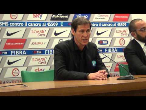 Roma-Lazio 2-0, Rudi Garcia in conferenza stampa dopo il derby