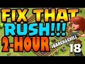 Clash of Clans: Let's FIX THIS RUSH!! ep18 - 2 HOUR #Barch&Chill + lv9 KING & MAX Heal mp3