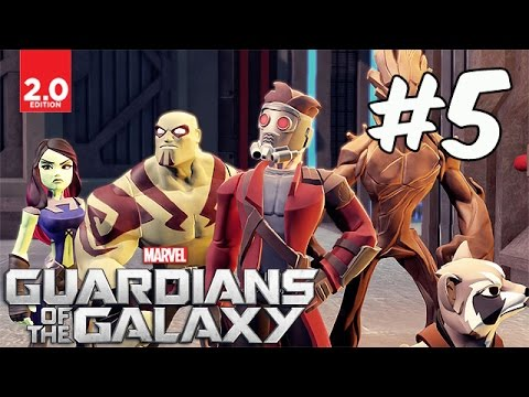 Guardians of the Galaxy - Part 5 (Sentinel Skirmish, Launch Time, Out of the Frying Pan...)