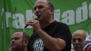 Jose luis Matassa Discurso en el Palco