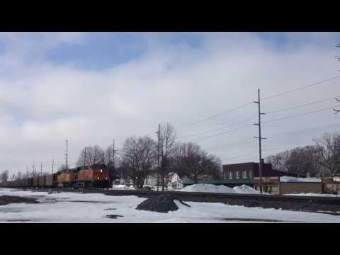 NS 416 East, Heavy Coal Drag - Wauseon, OH