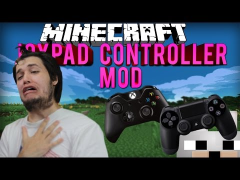 Thomas Meets JoyPad Controller Mod for Minecraft 1.8+