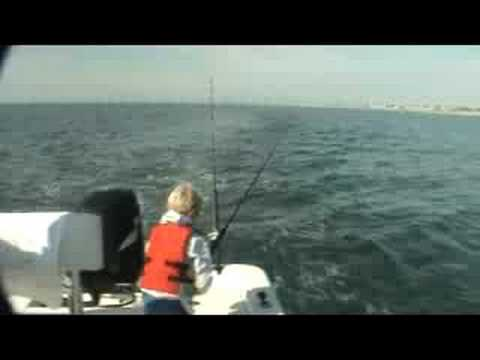 Wrightsville Beach Fishing, Spanish Mackerel Trolling