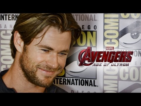 Chris Hemsworth Talks Ultron In Avengers 2 Age of Ultron - Comic Con 2014