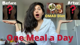 I tried the OMAD Diet for 1 week | ONE MEAL A DAY Results || Kirti SHARMA ||