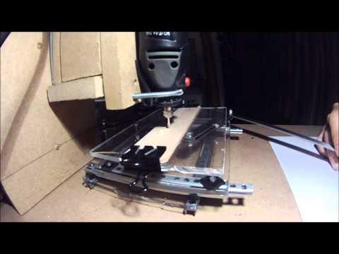 Pantógrafo Gravador (Pantograph engraver) Homemade