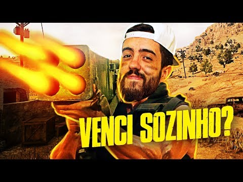 VENCENDO SOLO NO MAPA NOVO DO BATTLEGROUNDS!