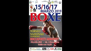 Torneo Nazionale Feminile 2019 - DAY 2 RING B