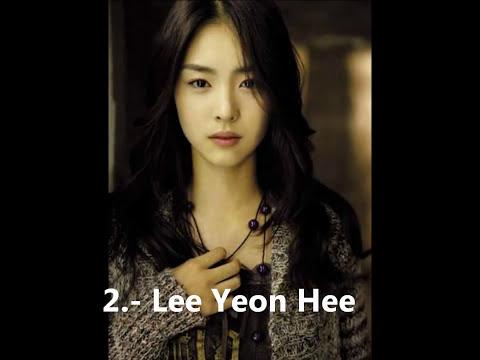 20 bellas actrices coreanas