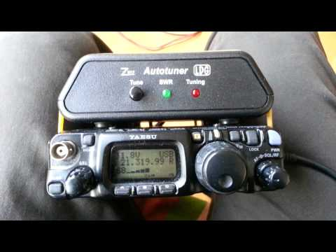FT-817ND with a LiPO battery: Hungary (HA8AR)