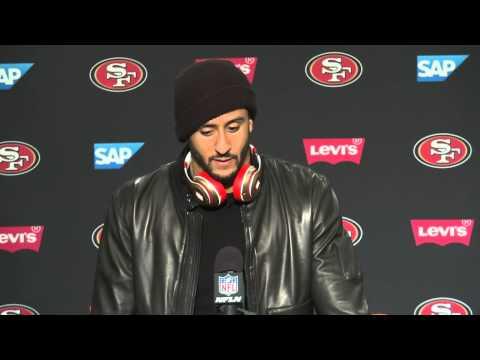 49ers Vs Seahawks Postgame Press Conference - Colin Kaepernick