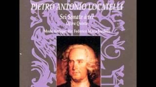 Locatelli Trio Sonatas op 5