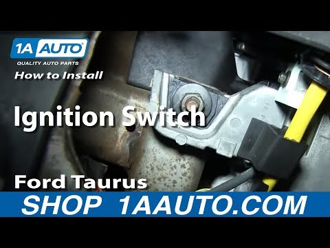 How To Install Replace Ignition Switch 1996-06 Ford Taurus