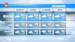 Hava Durumu (30 Nisan - 2 Mayıs 2015)