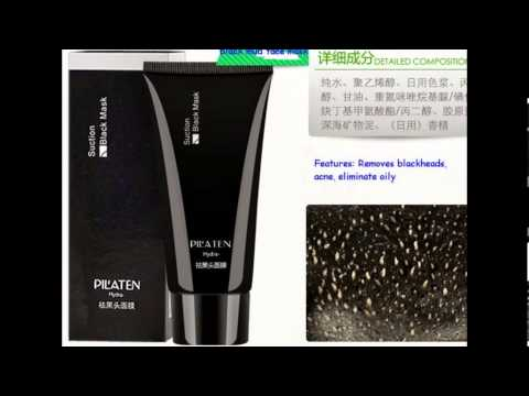 Black mask pilaten face Acne remover black mud masks 3.99$