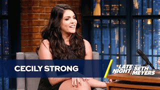 Cecily Strong Has Sympathy for Melania Trump