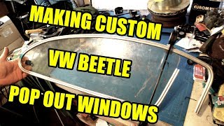Custom Chop Top Pop Out Windows 1 - ROTTEN OLD 1956 VW Beetle - 109
