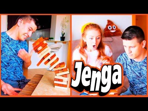 CHALLENGE JENGA! | ВЫПОЛНЯЕМ НАКАЗАНИЯ! | SWEET HOME