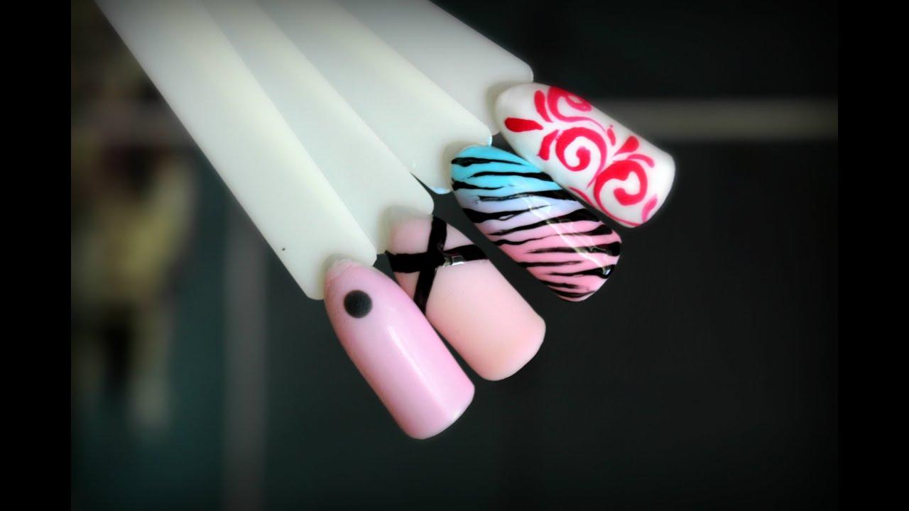 Быстрые дизайны ногтей фото