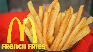 How to make McDonald's French Fries Recipe at Home | Homemade French Fries Recipe