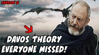 The Davos Theory EVERYONE Missed! Game Of Thrones Season 8