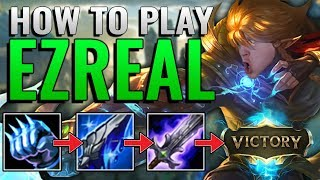Double tear is dead, but Ezreal isn't | How to Ezreal ADC Patch 9.8