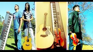 Heavenly Rainfall - Guitar Violin Piano Worship Soaking Prayer Music