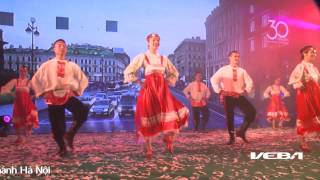 Tiết mục múa dân gian Nga - 30 năm Vietcombank Hà Nội - Veba Group