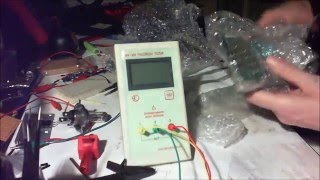 Ebay LCR ESR Meter Quick Review