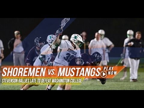 Washington College vs Stevenson | 2013 Lax.com Highlights