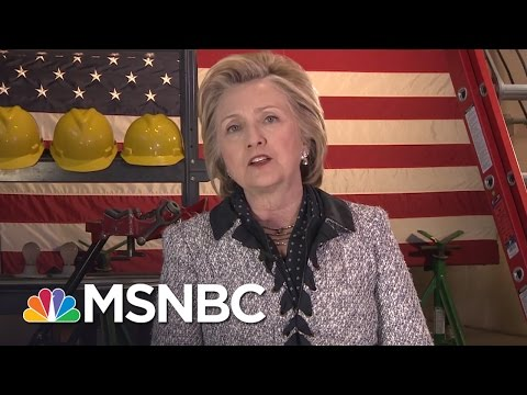 Hillary Clinton Talks Guns, Donald Trump And Potential VP Picks (Full Interview) | MSNBC