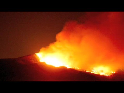 Angel Island Ablaze  12/13 Oct 2008