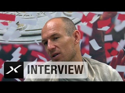 "Arjen Robben: ""Borussia Dortmund hat uns gepusht"" | Bundesliga"