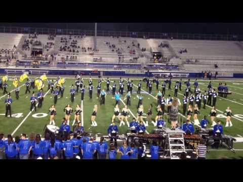 Florence High School Big Blue Marching Band 2013