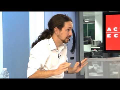 Entrevista Sin Cortes A Pablo Iglesias En actualidad Económica video