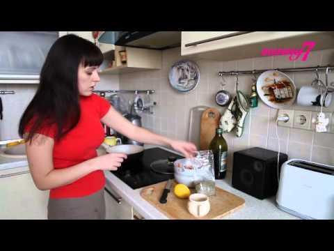 Как жарить креветки - видео