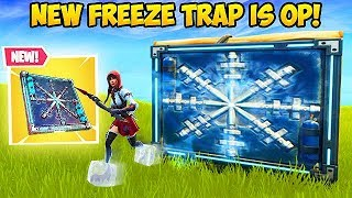 *NEW* FREEZE TRAP IS INSANE! - Fortnite Funny Fails and WTF Moments! #341
