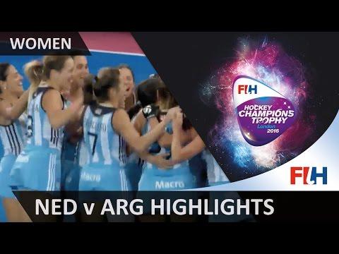 Netherlands v Argentina Match Highlights