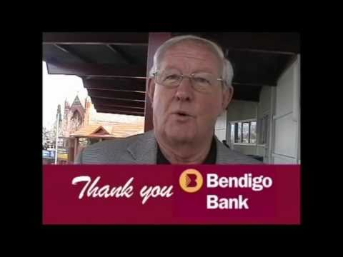 Bendigo Bank Advertisment  for the East Malvern Community Branch