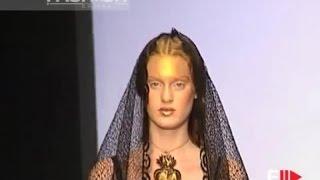 MARELLA FERRERA Spring Summer 1999 Rome 5 of 8 Haute Couture by Fashion Channel