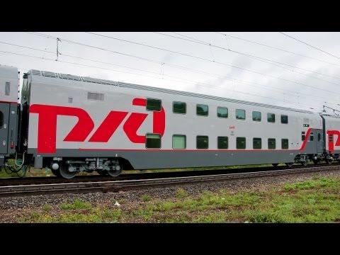 Презентация двухэтажного поезда на СКЖД