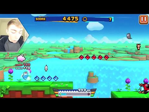 SONIC RUNNERS (iPhone Gameplay Video)