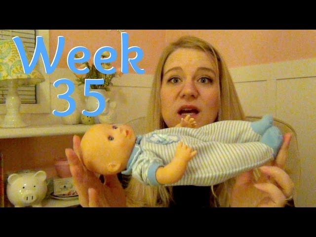 Pregnancy Week 35 - In a Bad Position