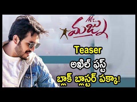 Mr Majnu Movie Teaser | Akhil Akkineni | Nidhhi Agerwal | Venky Atluri | SS Thamman | Telugu Stars