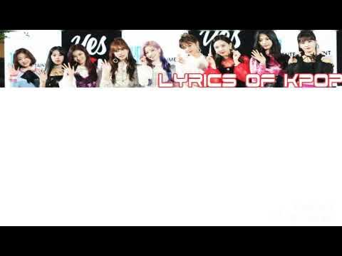 [Twice BDZ Korean Ver] Lyrics Rom